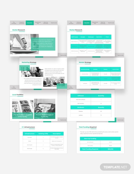 Sample Technical Pitch Deck