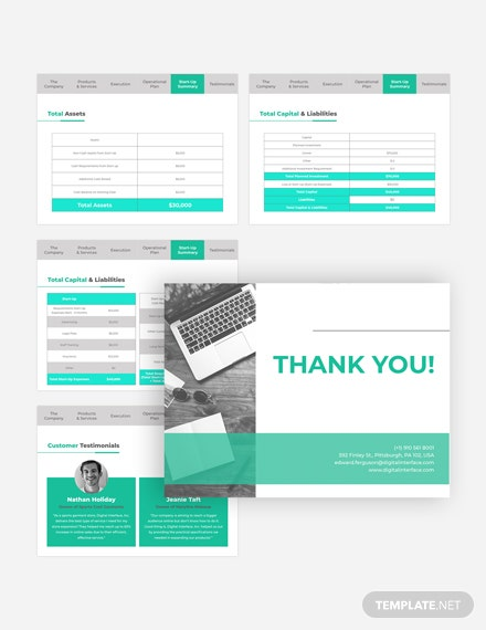 Technical Pitch Deck Customize