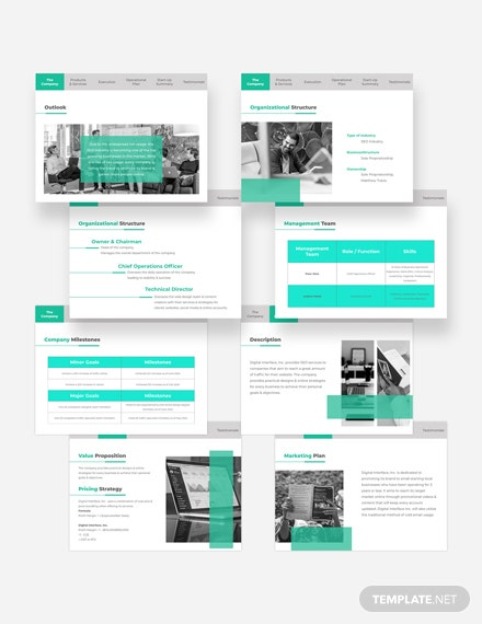 Technical Pitch Deck Download