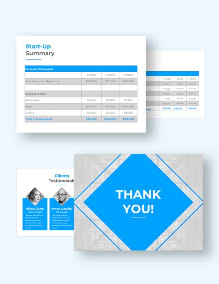 Company Profile Pitch Deck Customize
