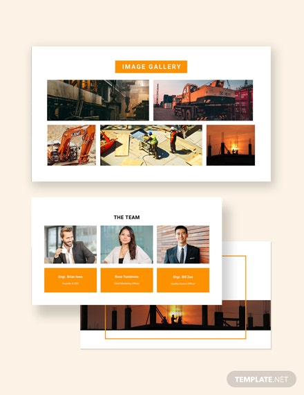 Construction Presentation Customize
