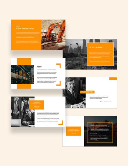Construction Presentation Download