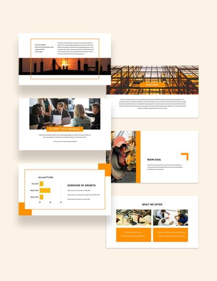 Sample Construction Presentation