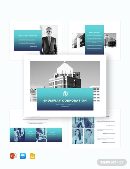 Corporate Company Presentation Template