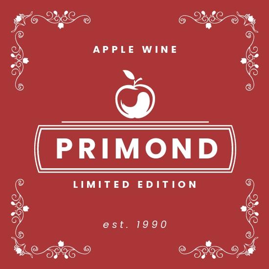 Apple Wine Label Template.jpe