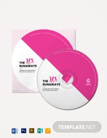 CD DVD Label Template