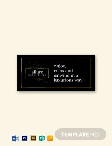 Golden Luxury Labels on Black Template