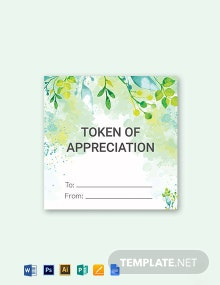 Watercolor Labels and Gift Tag Template