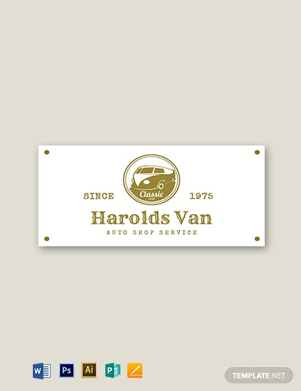 White and Gold Vintage Label Template