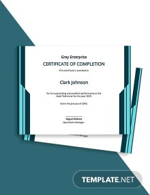 Free Technician Excellence Certificate