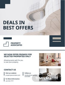 Apartment/Condo Mortgage Broker Flyer Template