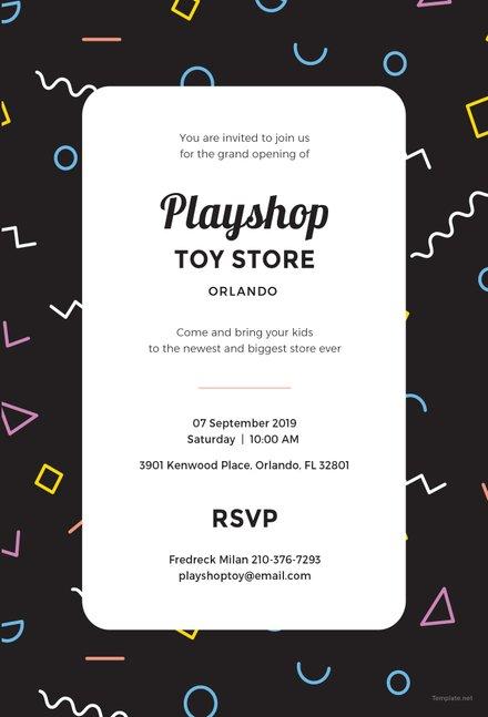 Free Event Invitation Template