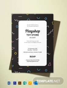 Free Event Invitation Template