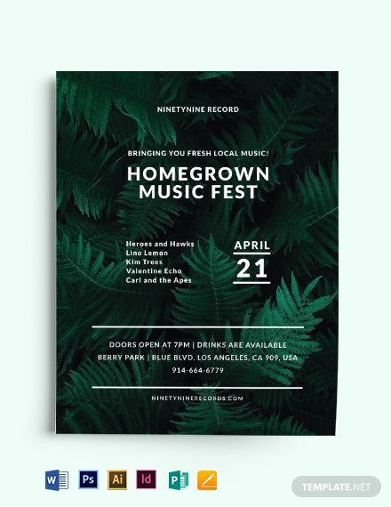 Simple Event Flyer Template