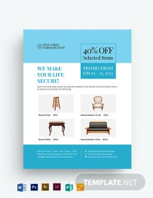 Furniture Sale Flyer Template