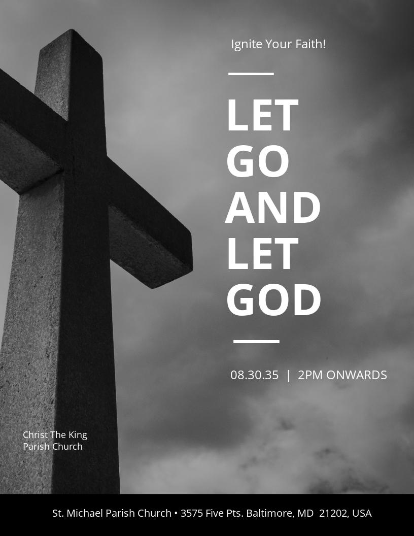 Jesus Church Flyer Template.jpe