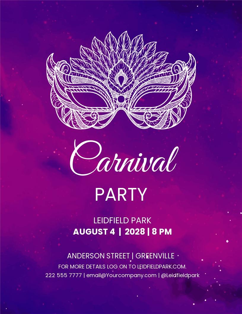 Mardi Gras Carnival Flyer template.jpe