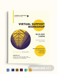 Small Business Event Flyer Template