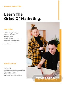 Small Business Marketing Flyer Template