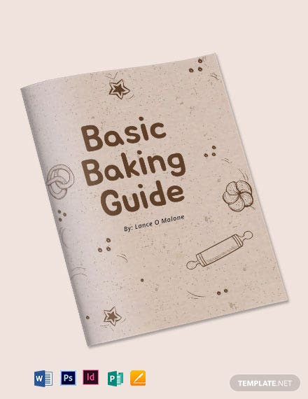 Baking Cookbook Template