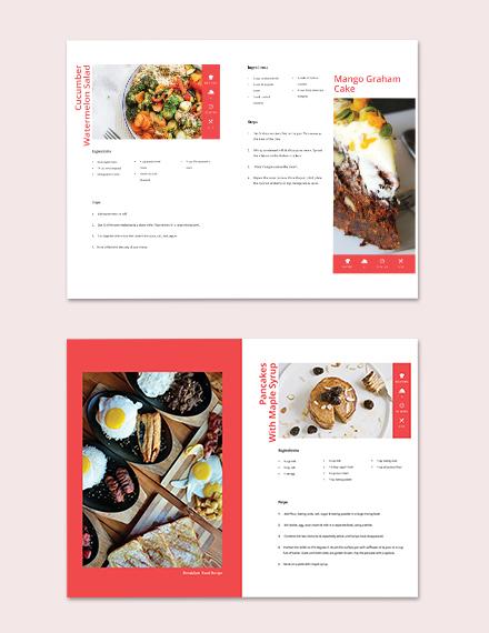 Editable Diy Cookbook Template