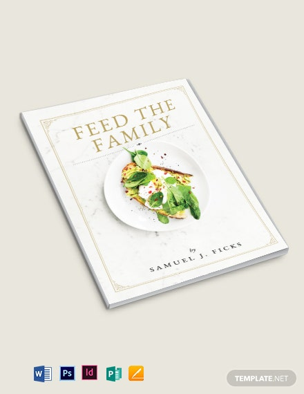 Family Heirloom Cookbook Template