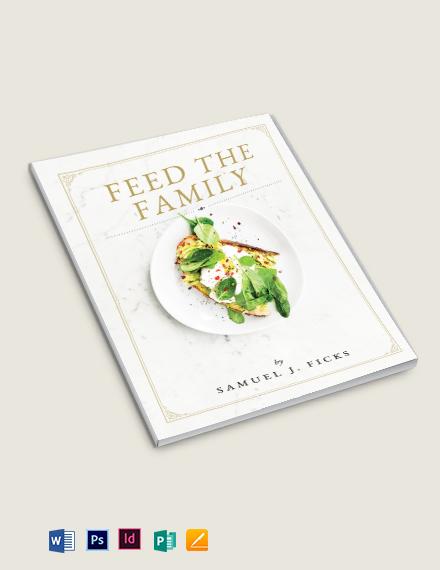 Family Heirloom Cookbook Template