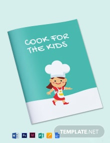 Preschool Cookbook Template