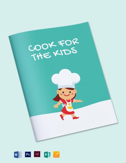 Preschool Cookbook Template