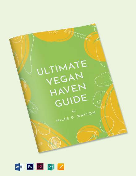 Vegan Cookbook Template
