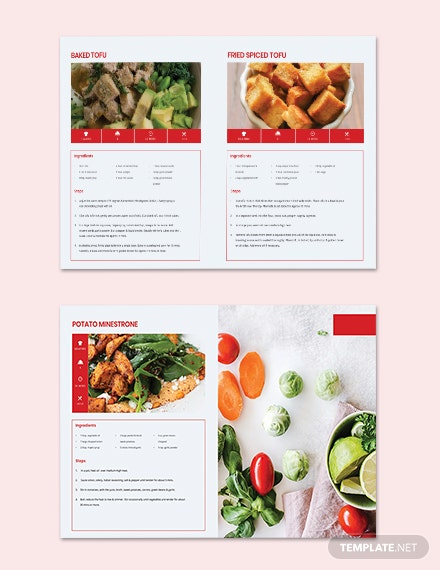 Download Vegetarian Cookbook Template