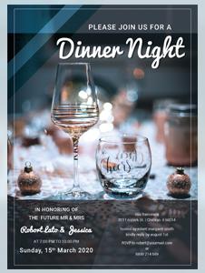 Free Gala Dinner Night Invitation Template in Illustrator Templatenet