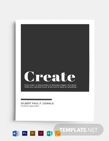 Create Space Book Cover Template