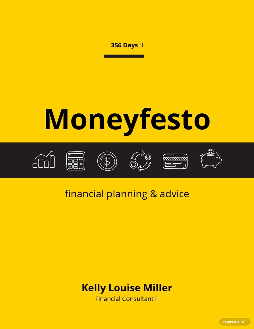 Finance Book Cover Template