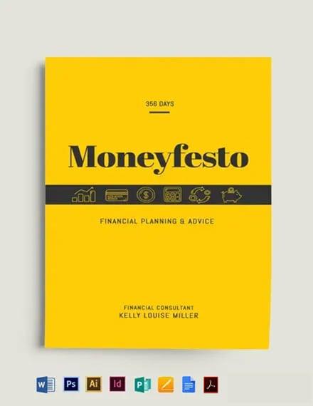 Finance Bookcover Template