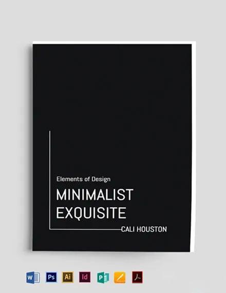 Graphic Design Bookcover Template