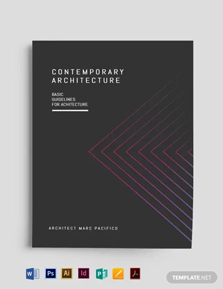Modern Book Cover Template