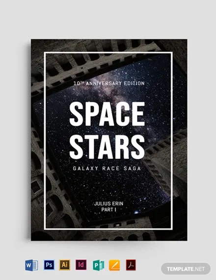 Science Fiction Bookcover Template