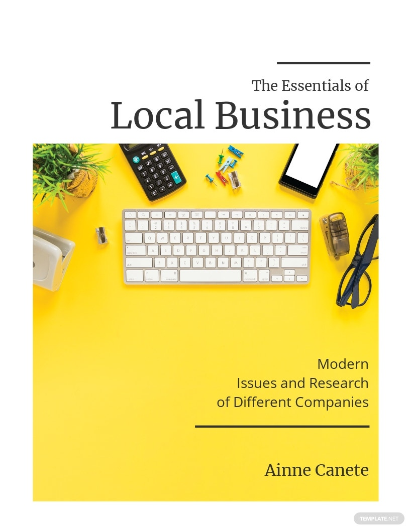 Small Business Bookcover Template