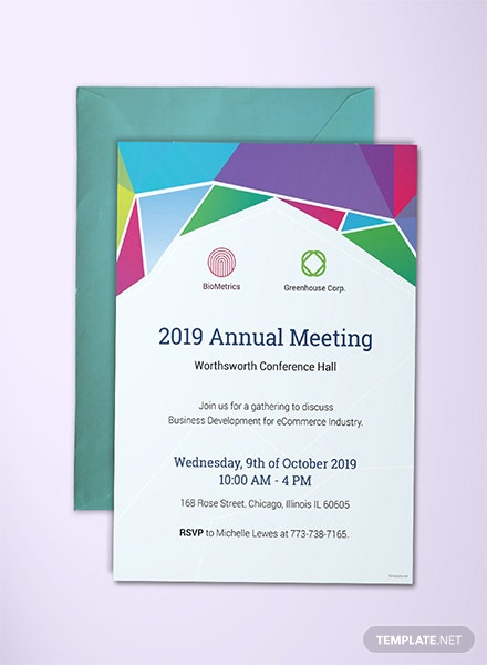 Free Invitation Business Templates | Download Ready-Made | Template.net