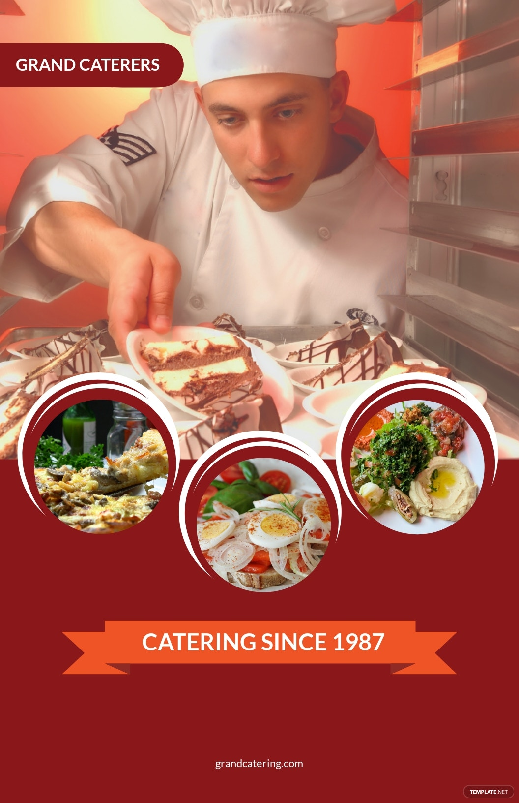 Catering Service Poster Template.jpe