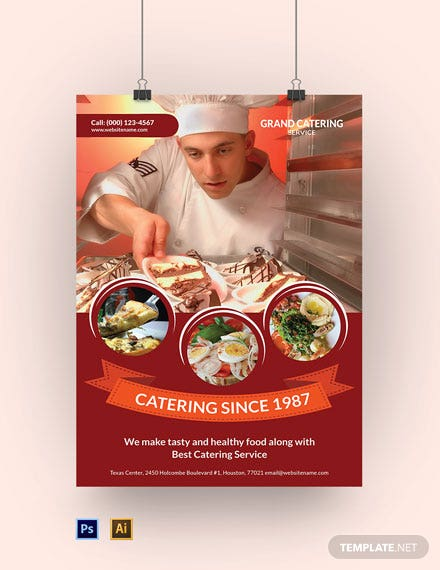 Catering Service Poster