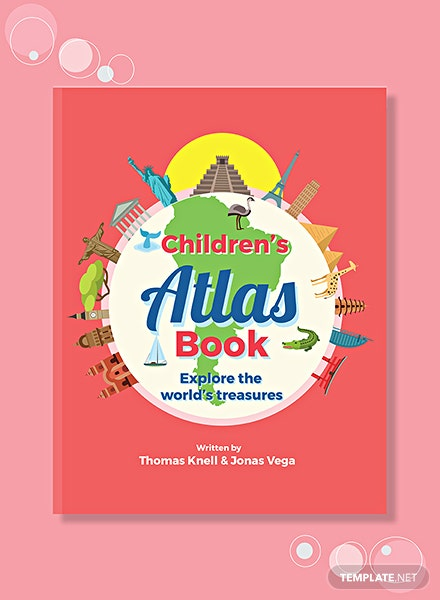 Children's Non-Fiction Book Cover Template