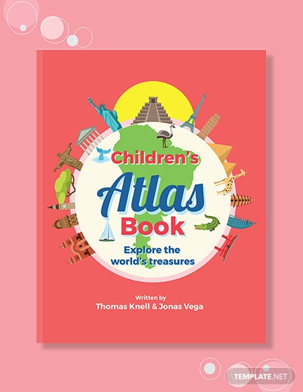 Free Children's Non-Fiction Book Cover Template