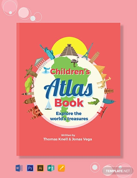 Childrens NonFiction Book Cover Template