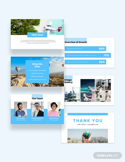 Sample Corporate Travel Agency Presentation