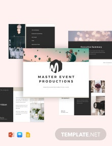 Event Pitch Deck Template