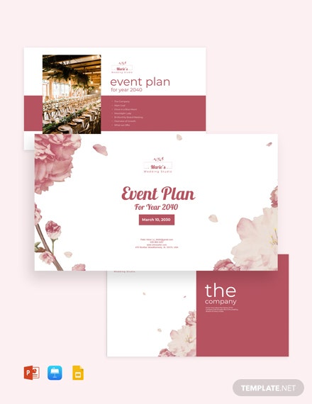 Event Planning Presentation Template