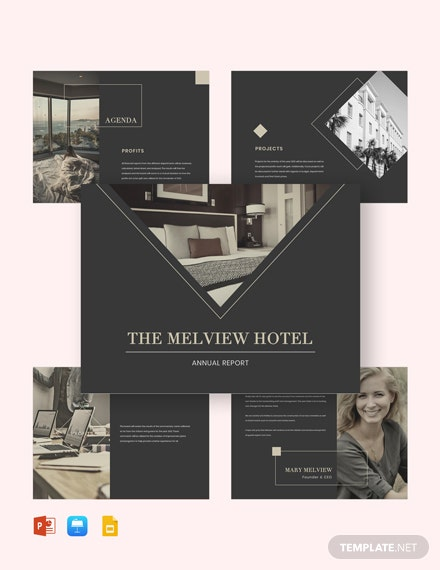 Hotel Budget Presentation Template