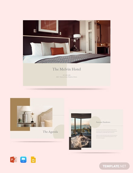 Hotel Event Plan Presentation Template